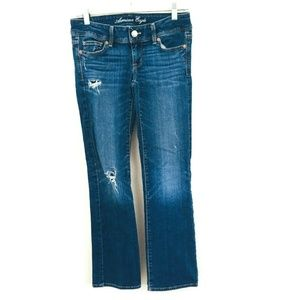 American Eagle Distressed Slim Boot Jeans 2